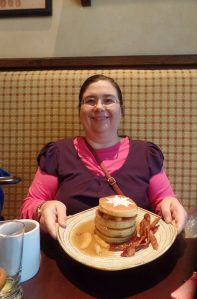 Sarah at Bon Voyage Breakfast