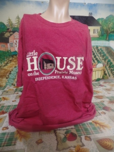 Little House on the Prairie Museum t-shirt