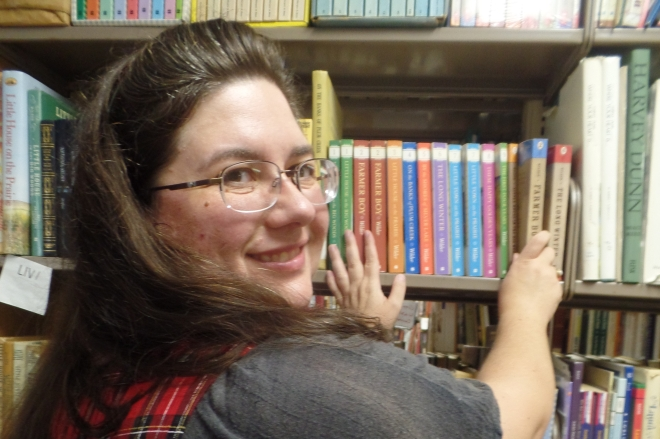Sarah and Books 2